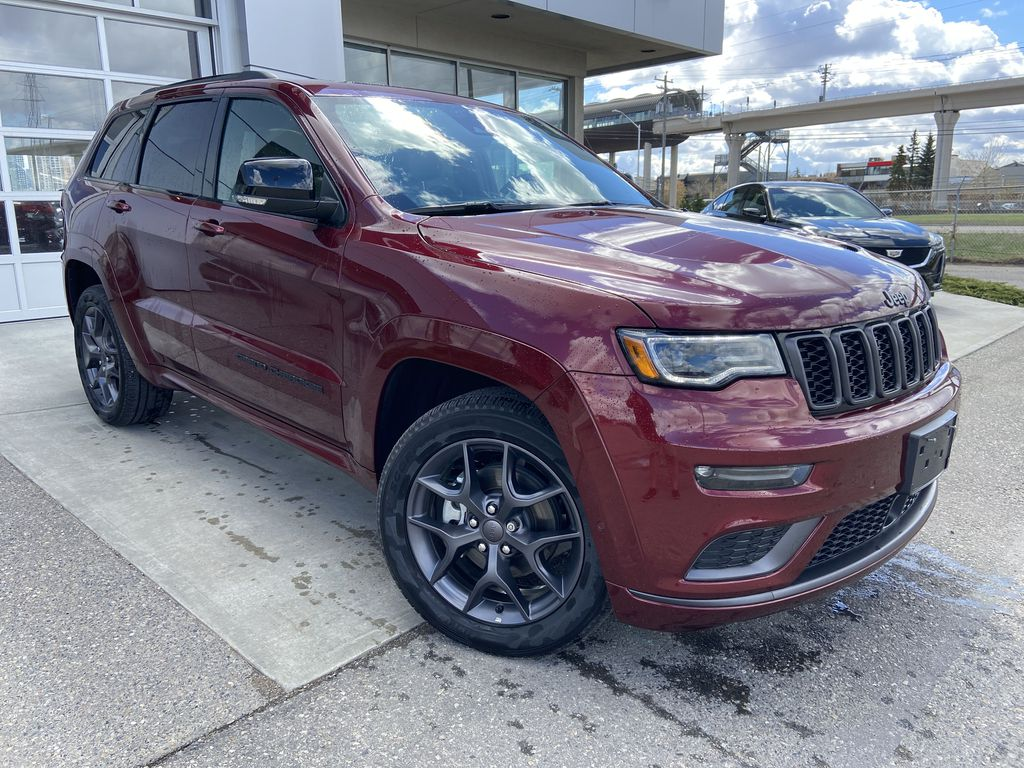Red[Velvet Red Pearl] 2019 Jeep Grand Cherokee Limited X