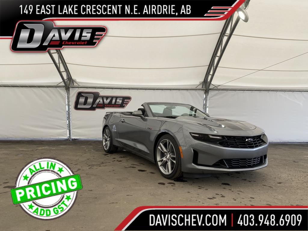 Dark Grey 2021 Chevrolet Camaro