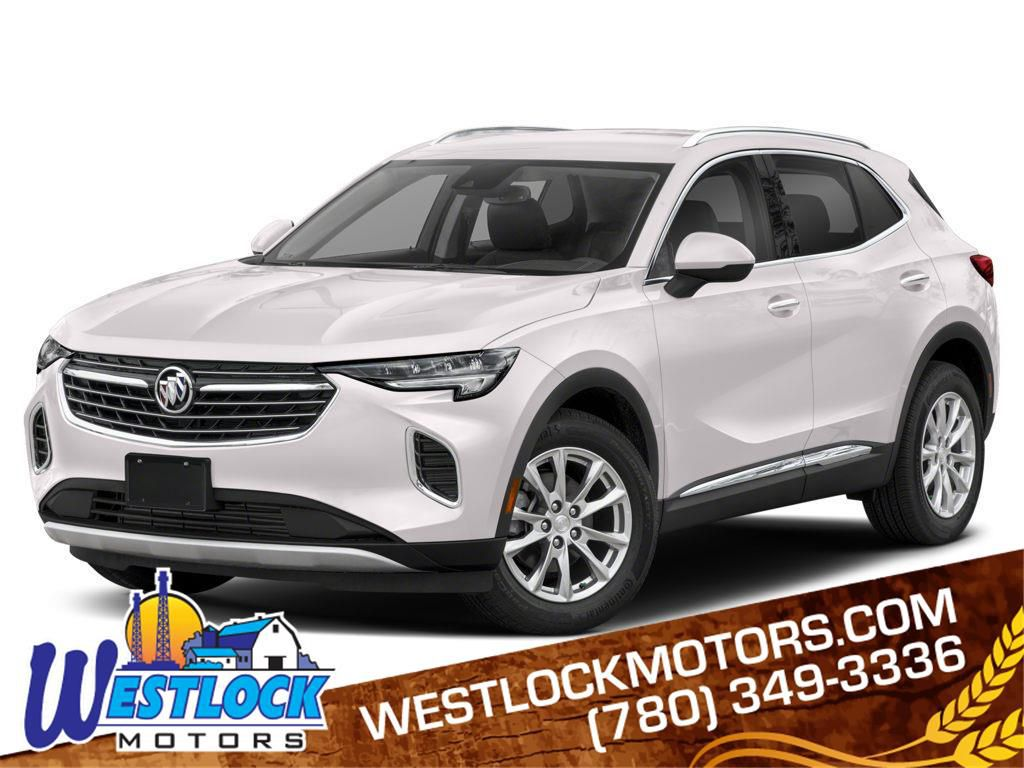 White 2021 Buick Envision