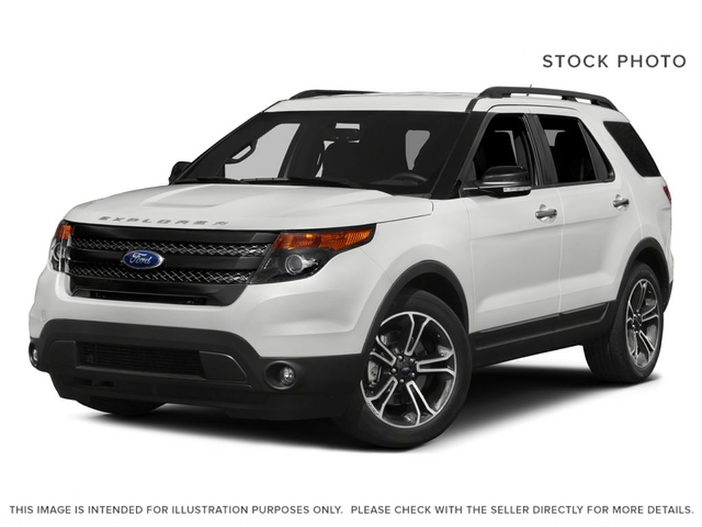 White 2015 Ford Explorer