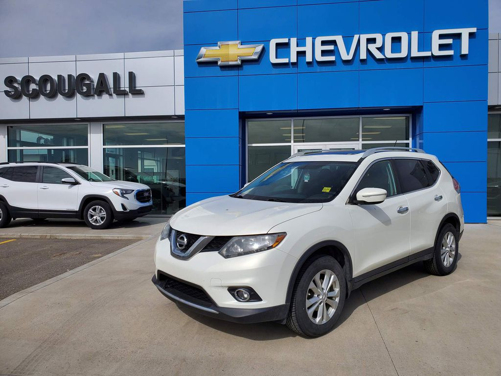 White[Moonlight White Pearl] 2014 Nissan Rogue
