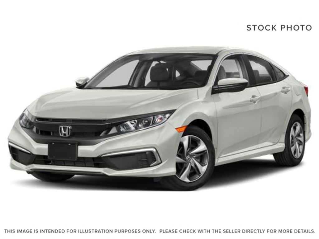 WHITE NH-883P 2021 Honda Civic Sedan
