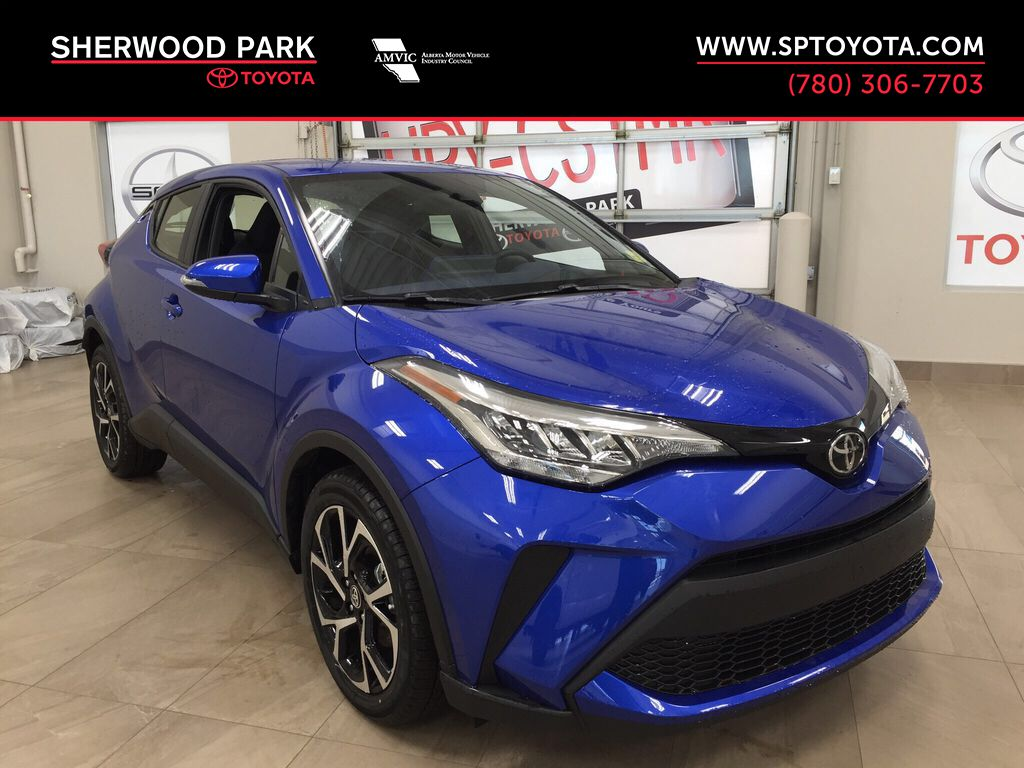 Blue[Blue Eclipse Metallic] 2021 Toyota C-HR XLE Premium