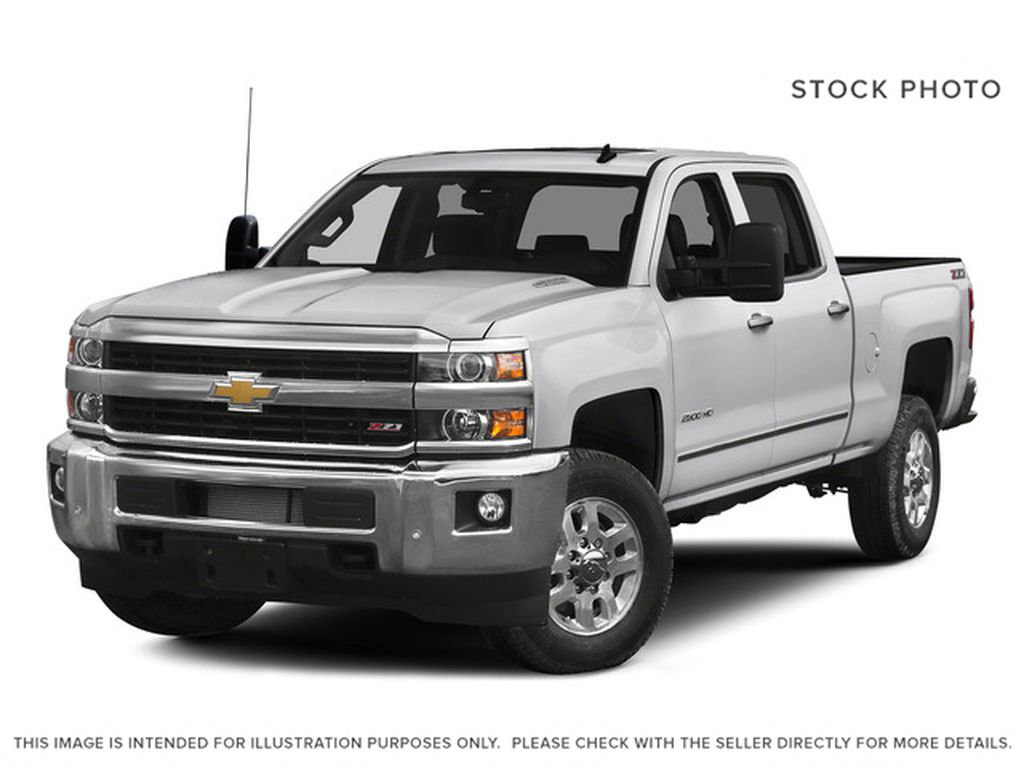 White[Summit White] 2015 Chevrolet Silverado 2500HD Built After Aug 14