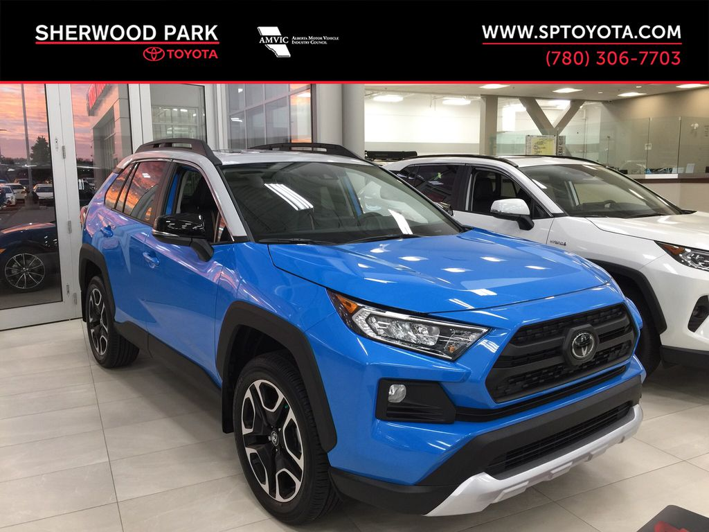 Blue[Blue Flame/Ice Edge Roof] 2021 Toyota RAV4 Trail