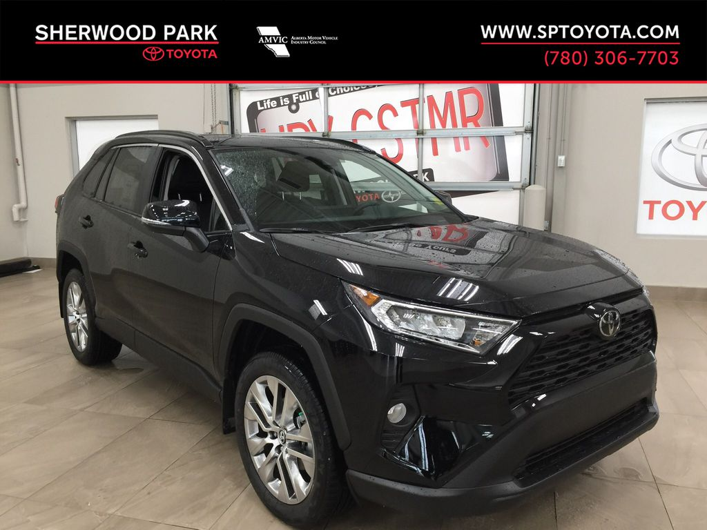 Black[Midnight Black Metallic] 2021 Toyota RAV4 XLE Premium