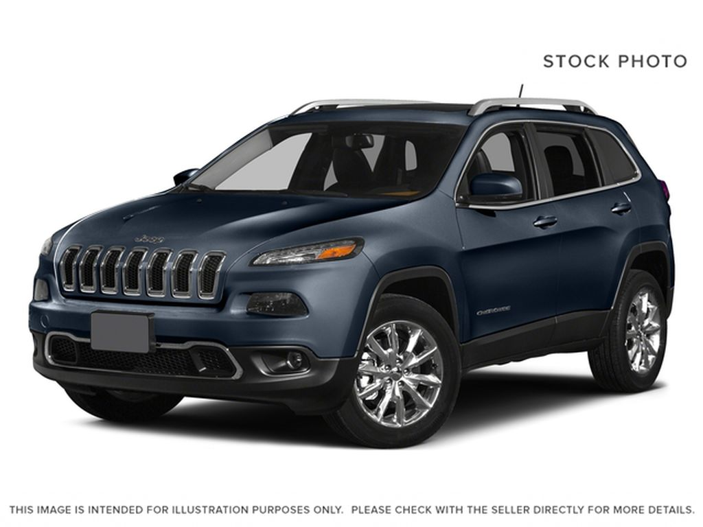 Blue[True Blue Pearl] 2015 Jeep Cherokee Limited 4x4