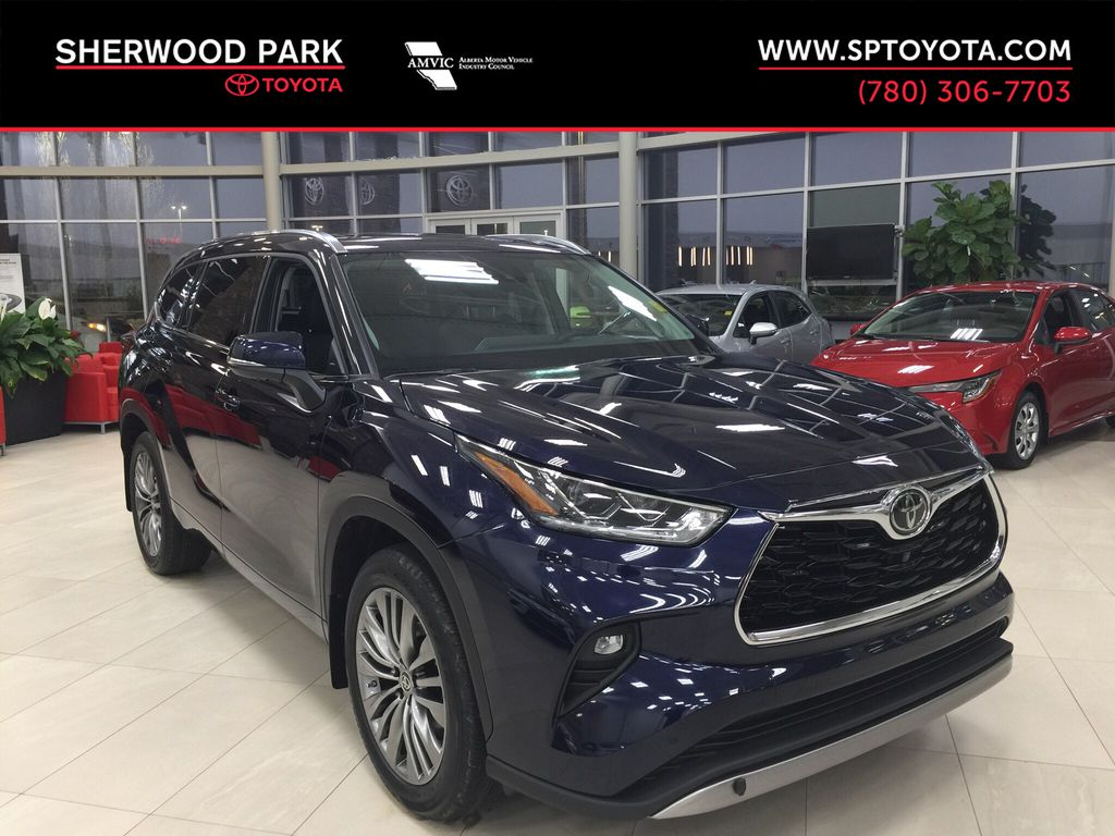 Blue[Blueprint] 2021 Toyota Highlander Platinum
