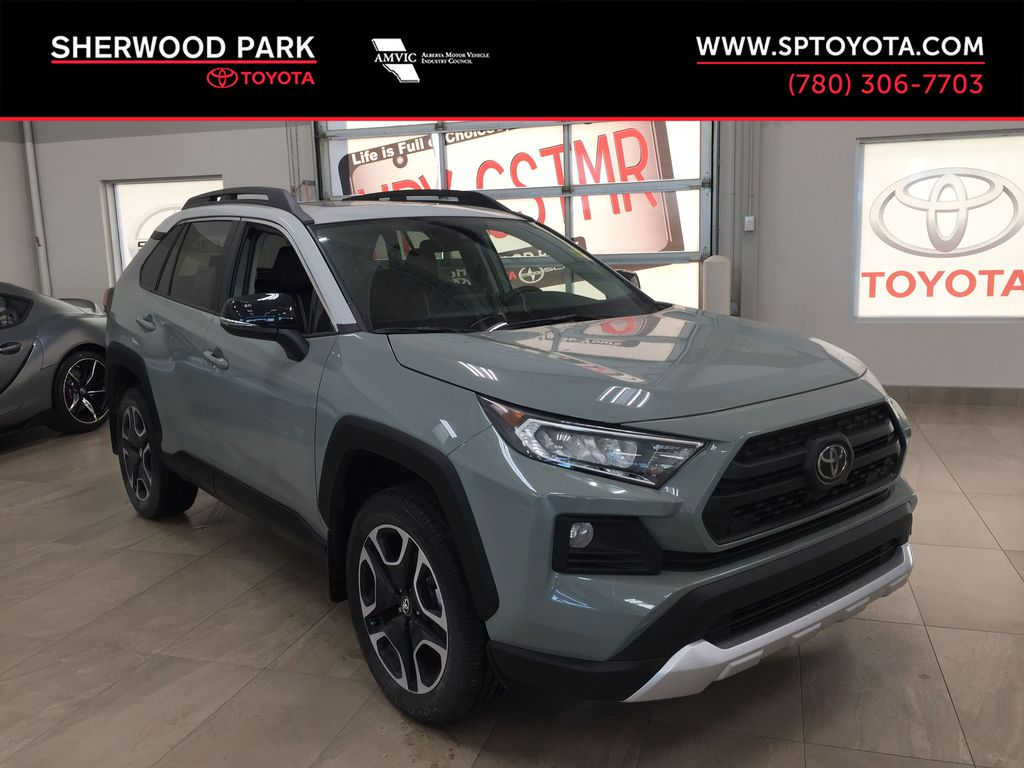 Gray[Lunar Rock w/Ice Edge Roof] 2021 Toyota RAV4 Trail
