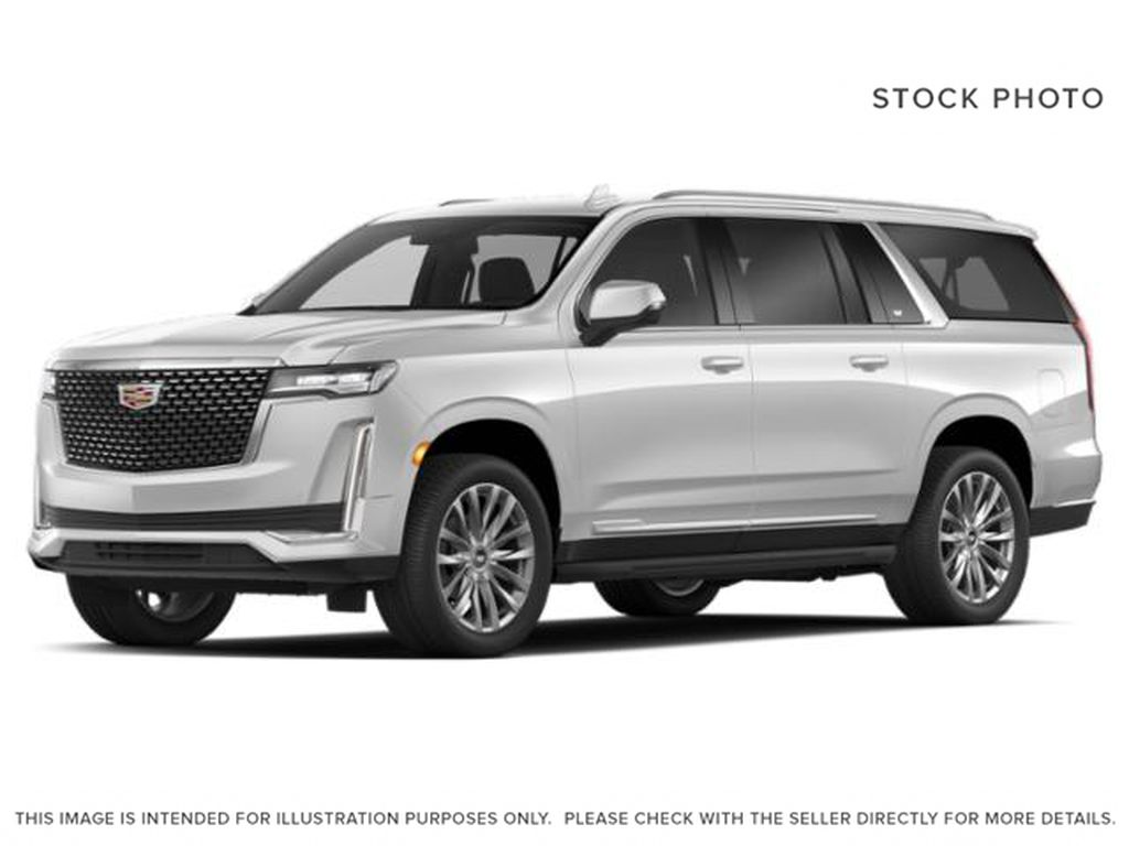 White[Crystal White Tricoat] 2021 Cadillac Escalade ESV