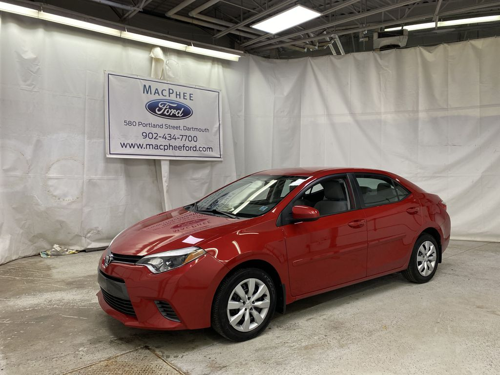 Red[Absolutely Red] 2015 Toyota Corolla
