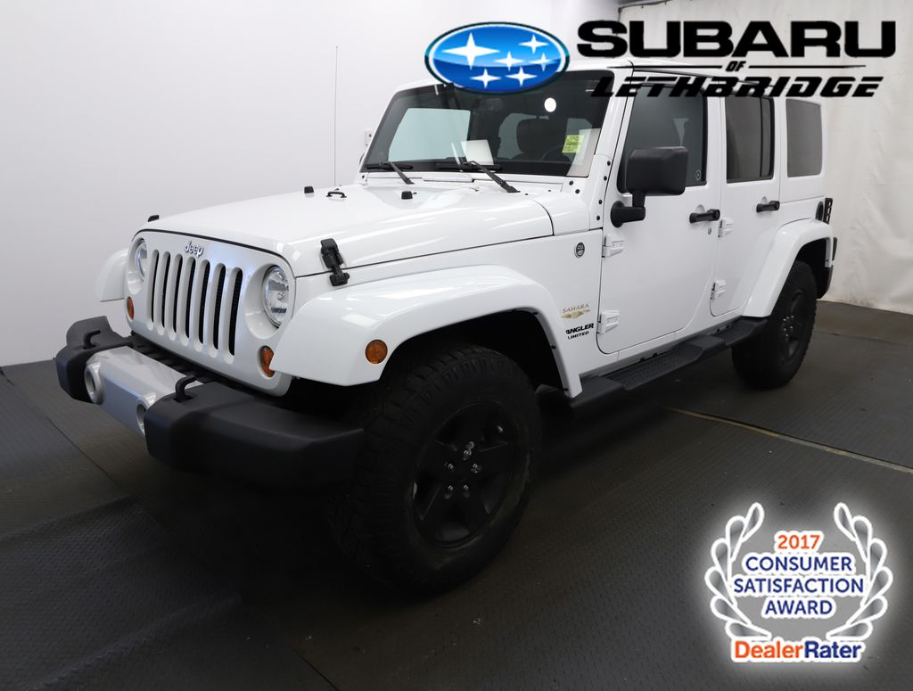 White 2013 Jeep Wrangler Unlimited