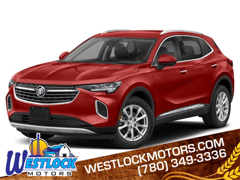 Red 2021 Buick Envision