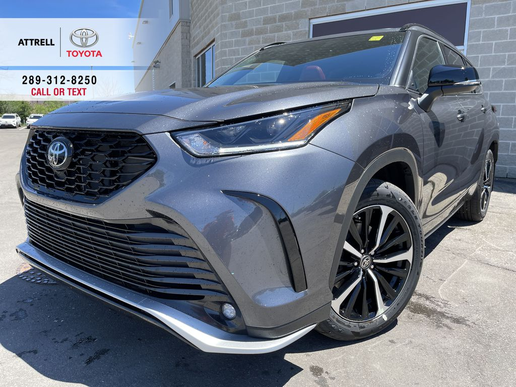 Gray[Magnetic Grey Metallic] 2021 Toyota Highlander AWD XSE Package LZRBHT AN