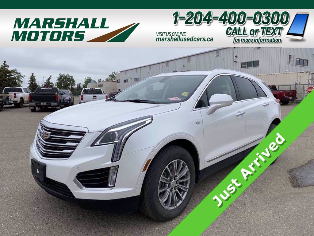 White[Crystal White Tricoat] 2018 Cadillac XT5 AWD 4dr Luxury *Just Traded!*