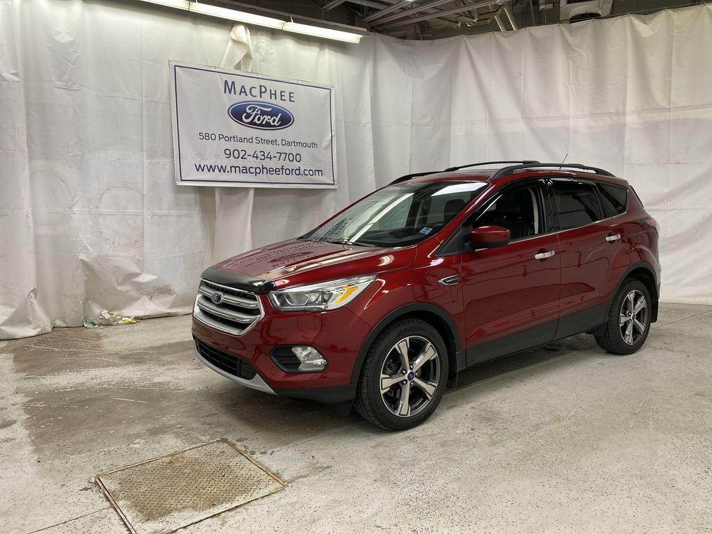 Red[Ruby Red Metallic Tinted Clearcoat] 2017 Ford Escape