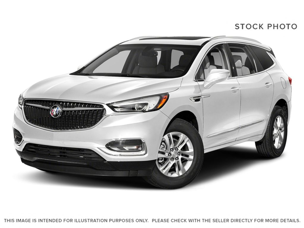White[Summit White] 2018 Buick Enclave