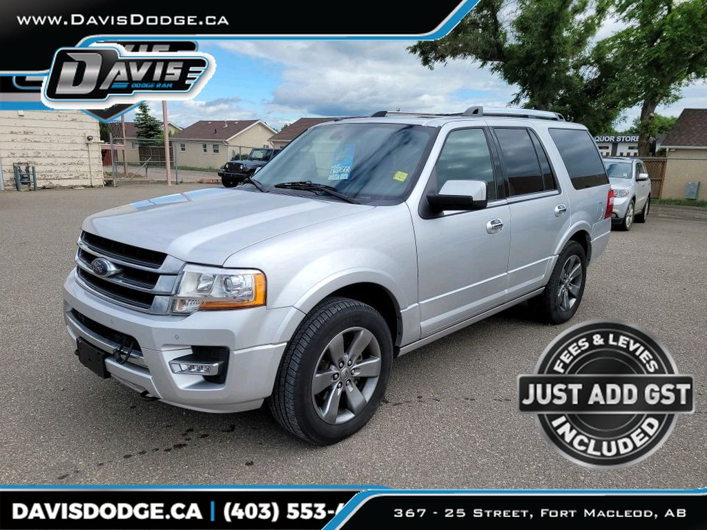 Silver 2017 Ford Expedition