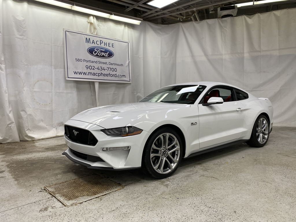 White[Oxford White] 2021 Ford Mustang