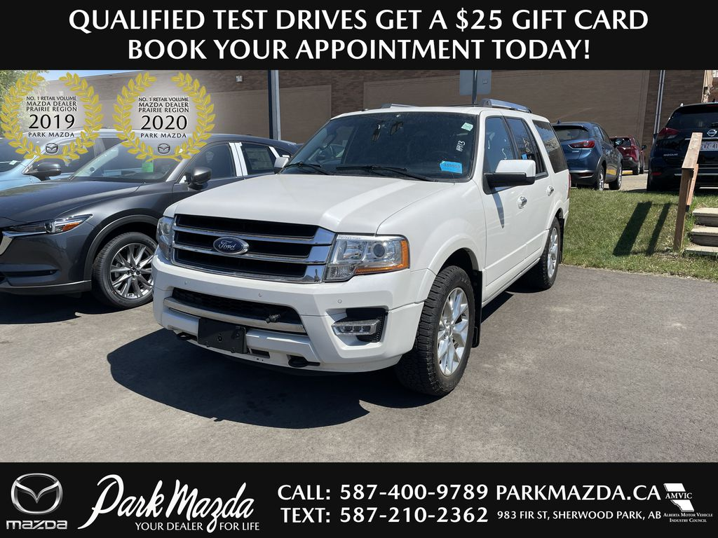 WHITE 2016 Ford Expedition Limited
