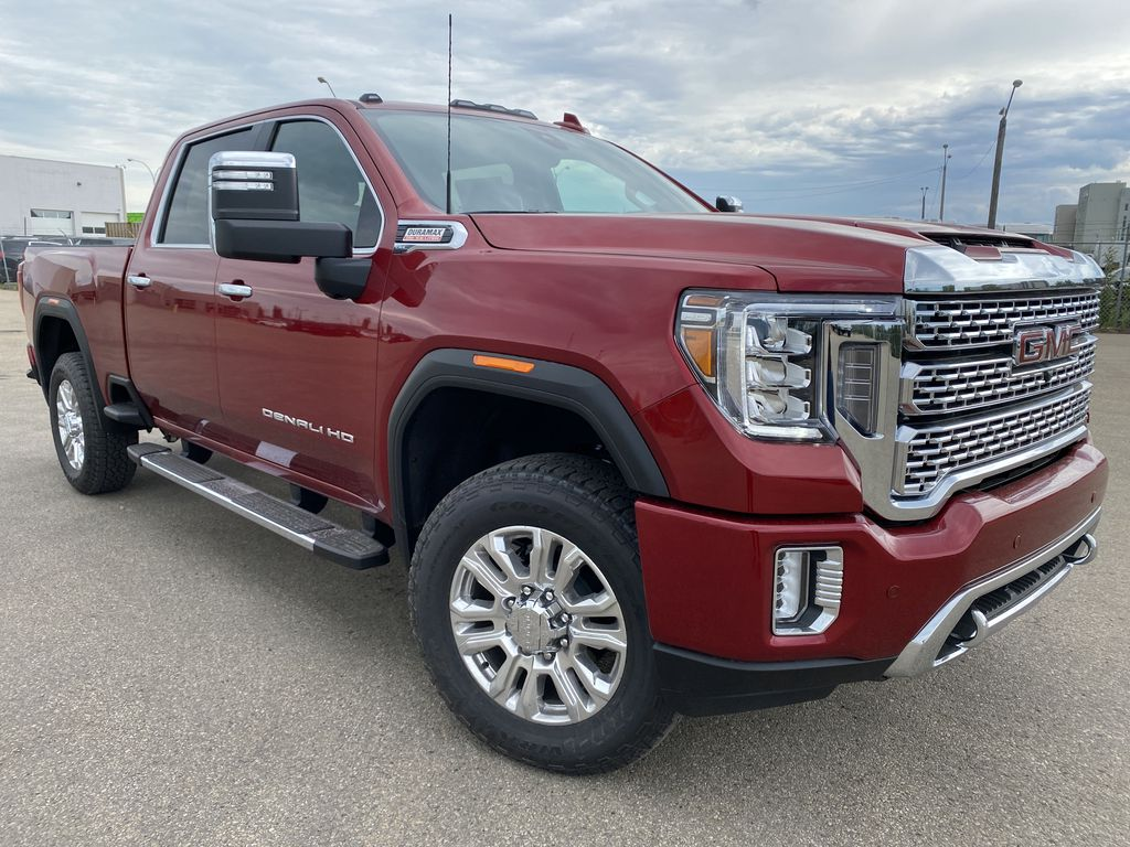 Red[Cayenne Red Tintcoat] 2021 GMC Sierra 2500HD