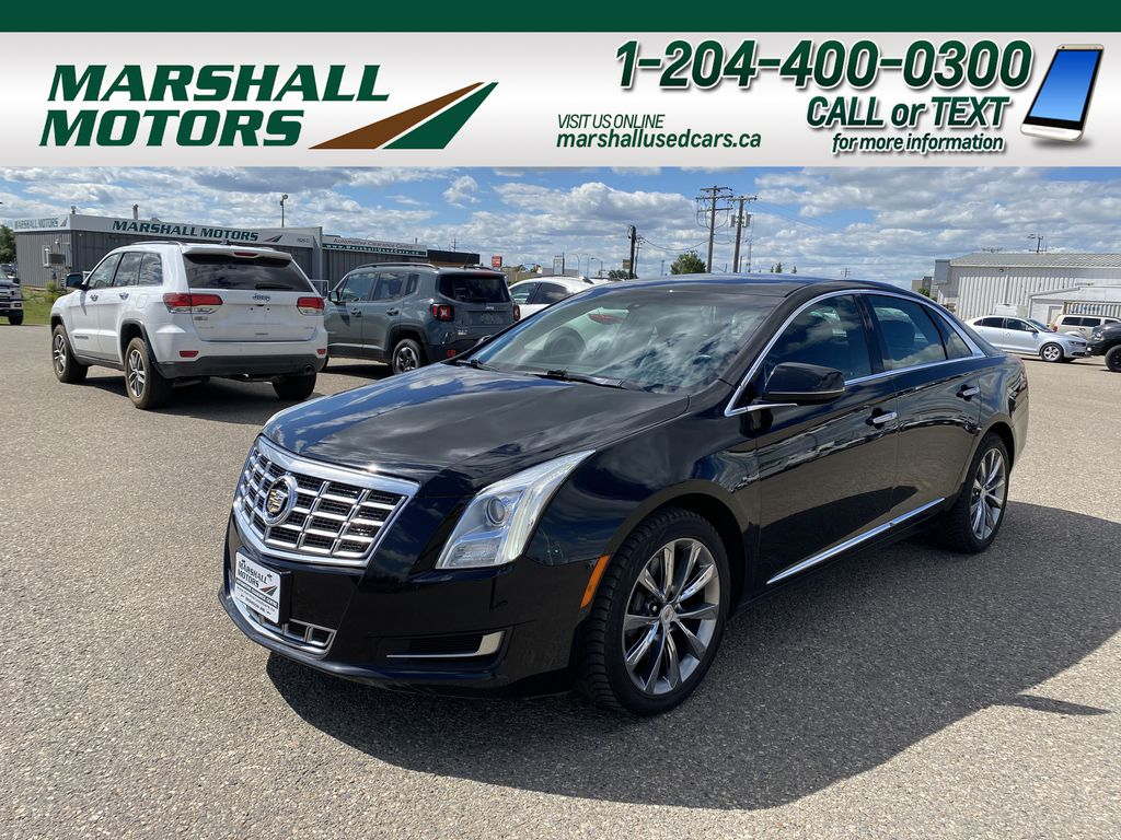 Black[Black Diamond Tricoat] 2013 Cadillac XTS 4dr Sdn Livery Package FWD *Bluetooth* *Backup Cam* *PWR Seats*