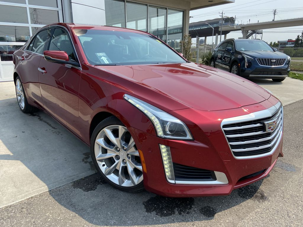 Red[Red Obsession Tintcoat] 2017 Cadillac CTS Sedan Premium Luxury