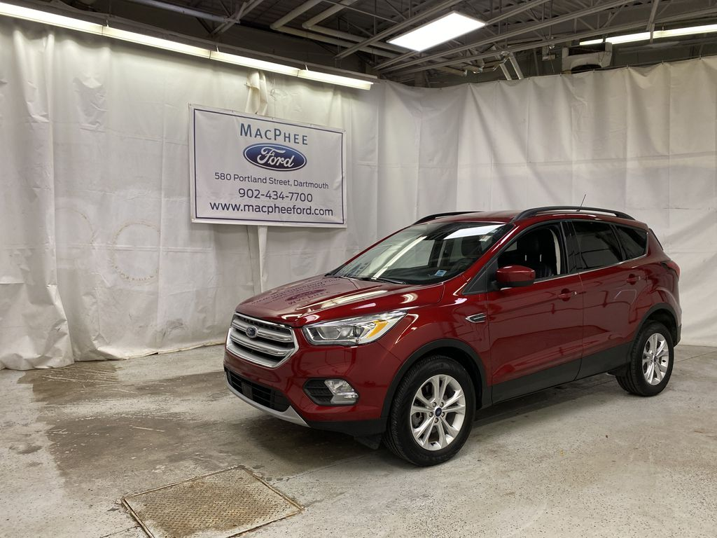 Red[Ruby Red Metallic Tinted Clearcoat] 2019 Ford Escape