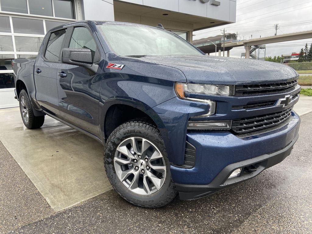 Blue[Northsky Blue Metallic] 2021 Chevrolet Silverado 1500 RST