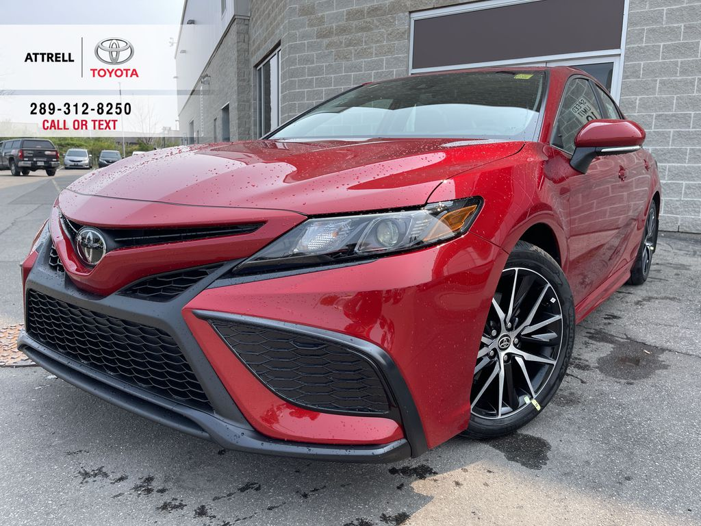 Red[Supersonic Red] 2021 Toyota Camry AWD SE UPGRADE G11BKT BD
