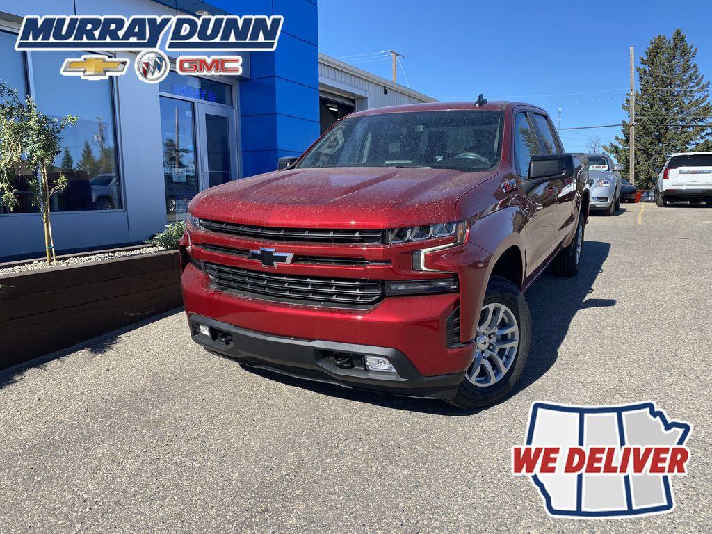 Red[Cherry Red Tintcoat] 2021 Chevrolet Silverado 1500