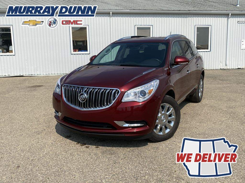 Red[Crimson Red Tintcoat] 2015 Buick Enclave