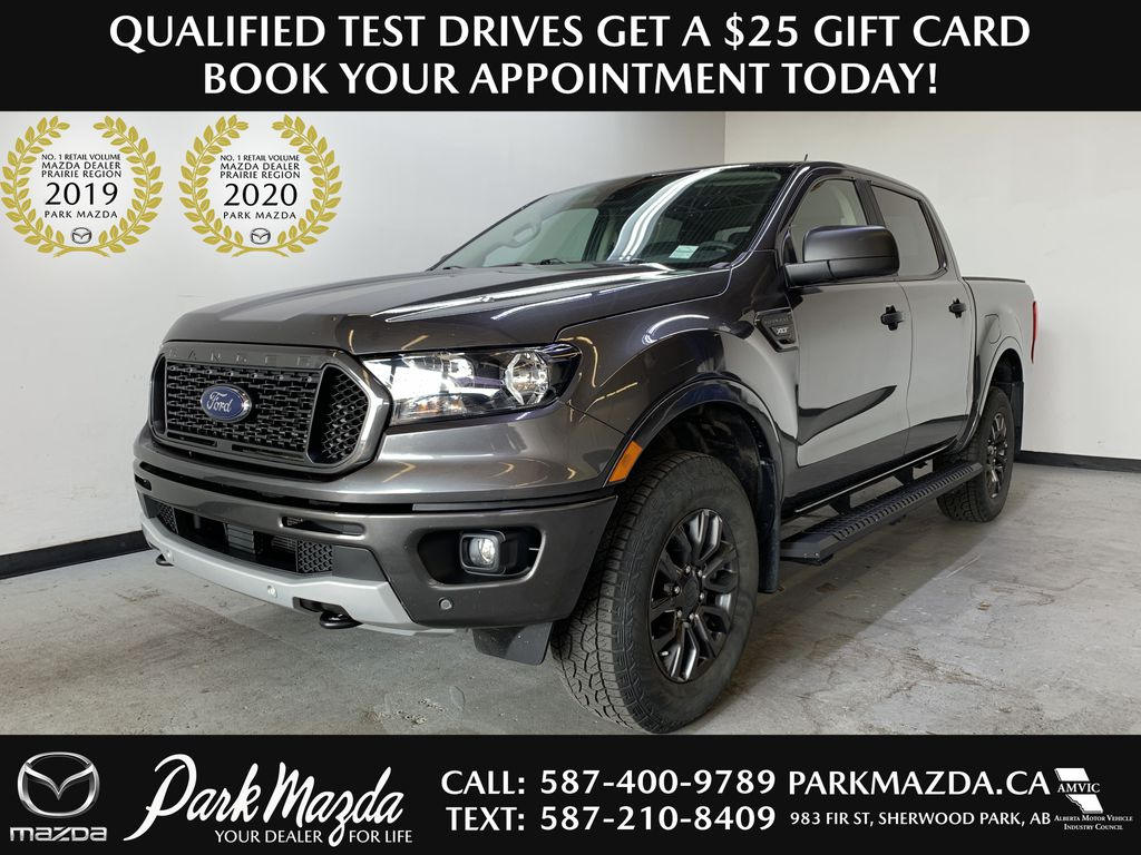 GREY 2019 Ford Ranger XLT FX4 - Bluetooth, Remote Start, NAV, Backup Cam, Tow Package