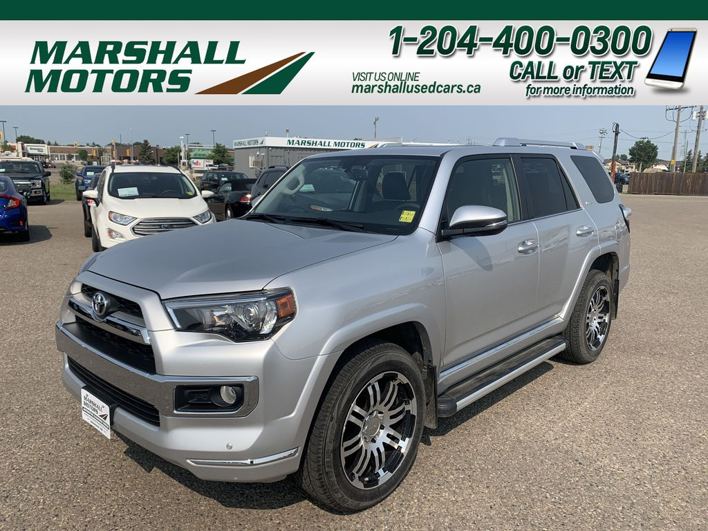 Silver 2016 Toyota 4Runner Limited *Heated/Cooled Seats* *Tow PKG* *NAV*