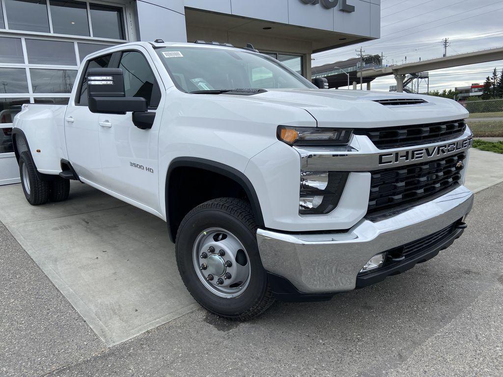 White[Summit White] 2021 Chevrolet Silverado 3500HD LT