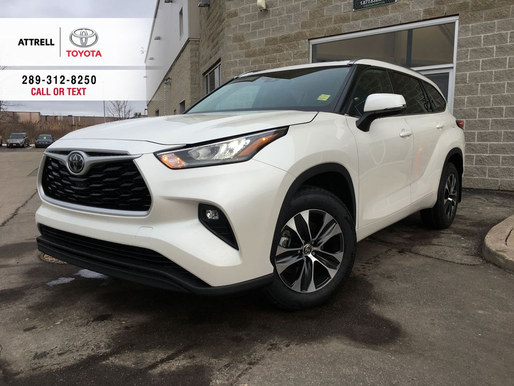 White[Blizzard Pearl] 2021 Toyota Highlander AWD XLE Package GZRBHT AC