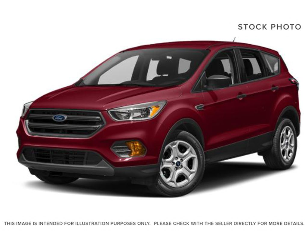Red[Ruby Red Metallic Tinted Clearcoat] 2018 Ford Escape