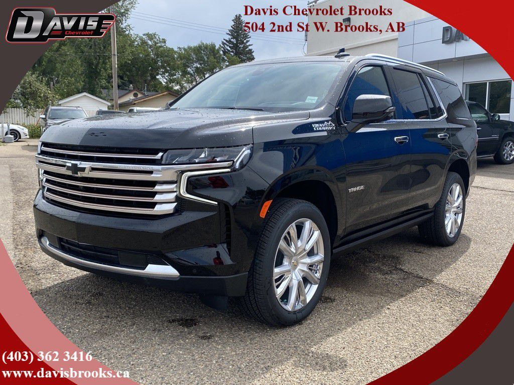 Black 2021 Chevrolet Tahoe