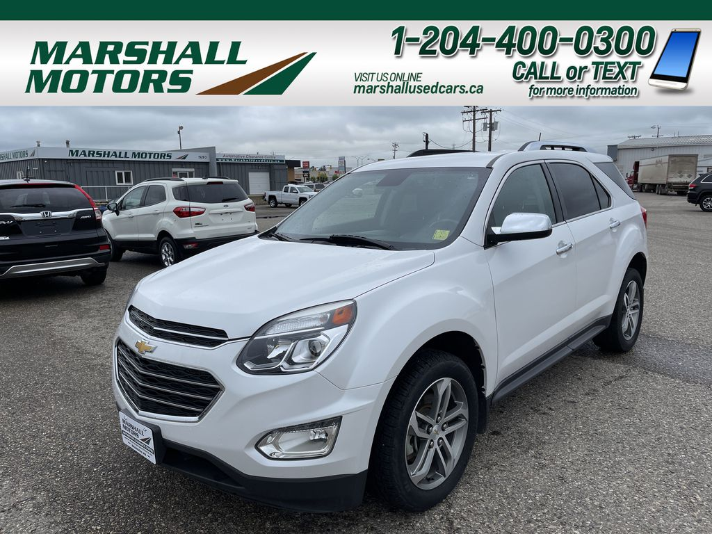 White[Iridescent Pearl Tricoat] 2017 Chevrolet Equinox AWD 4dr Premier *Remote Start* *Heated Seats* *Lumbar*