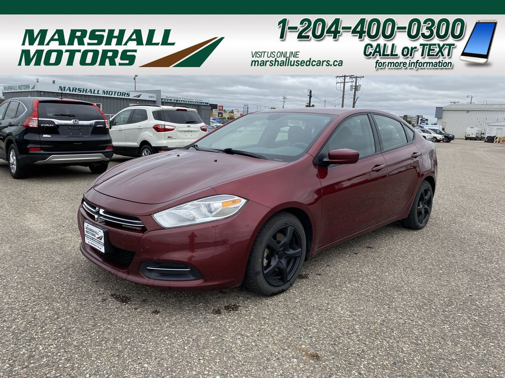 Red[Passion Red Pearl] 2015 Dodge Dart 4dr Sdn Aero *JUST TRADED* *Winter/Summer Tires* *Bluetooth*