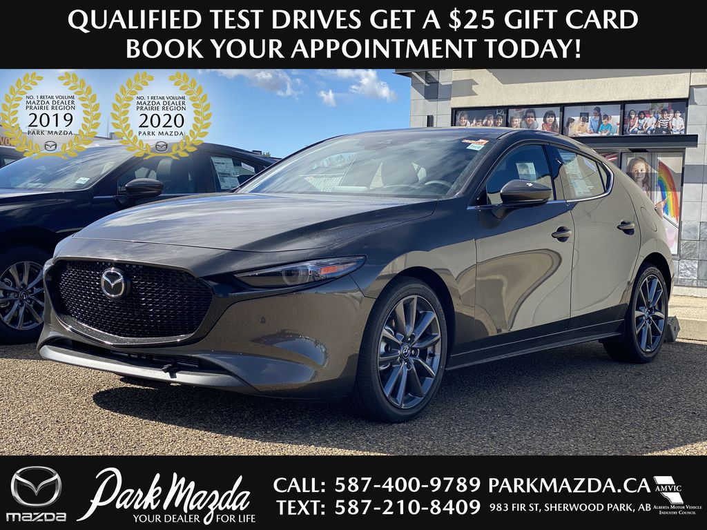 TITANIUM FLASH MICA(42S) 2021 Mazda Mazda3 Sport GT Premium FWD