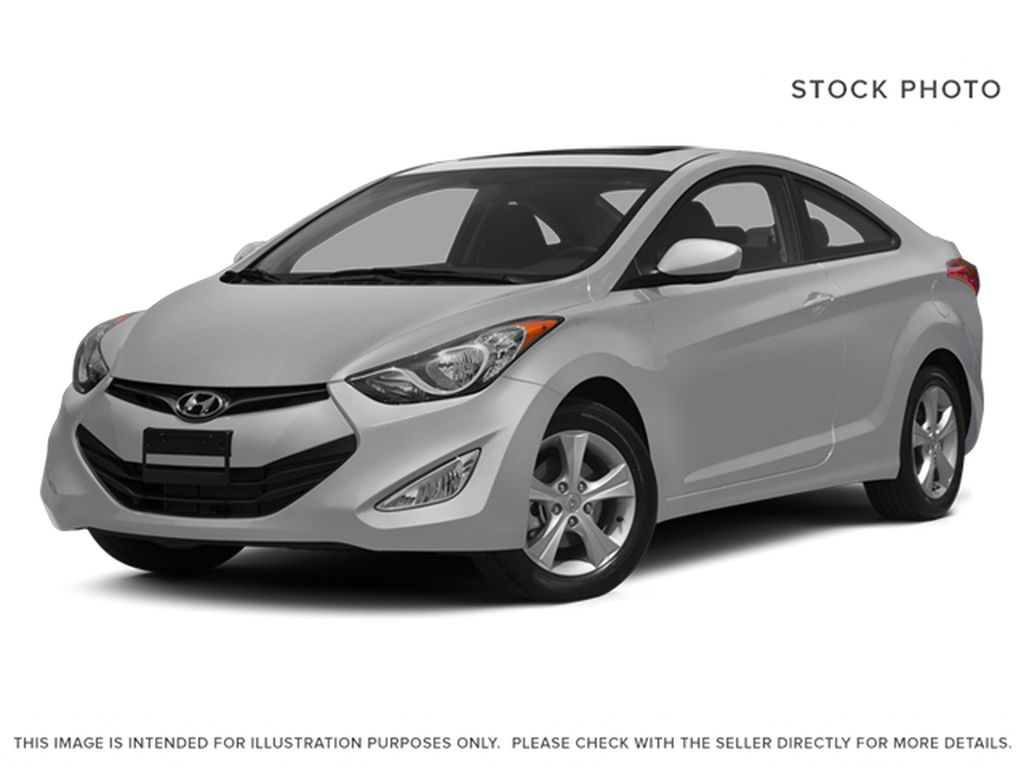 Silver[Shimmering Silver Metallic] 2013 Hyundai Elantra Coupe