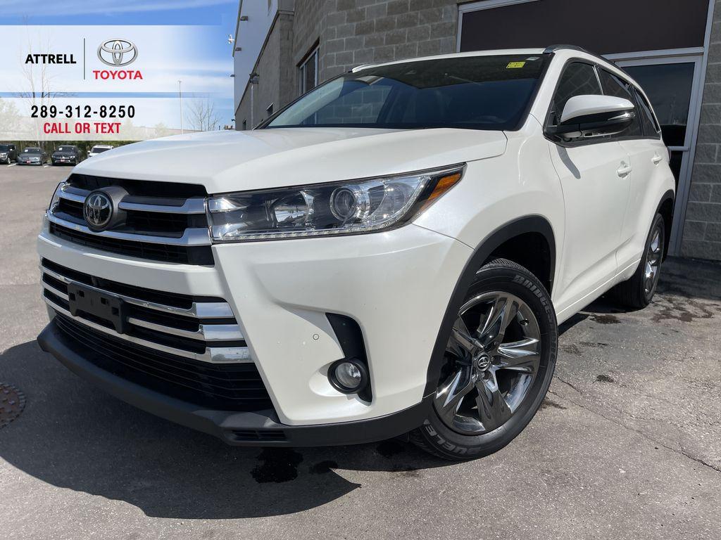 White[Blizzard Pearl] 2018 Toyota Highlander
