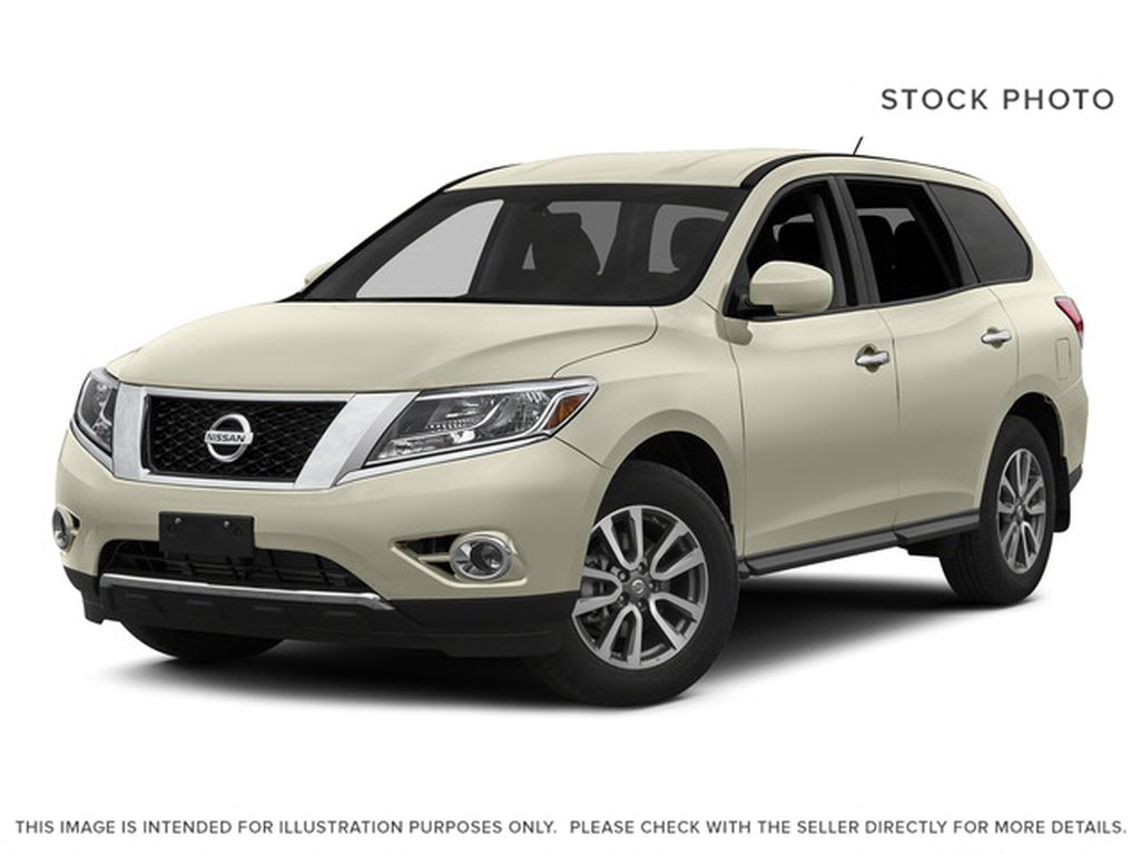 White[Pearl White] 2015 Nissan Pathfinder