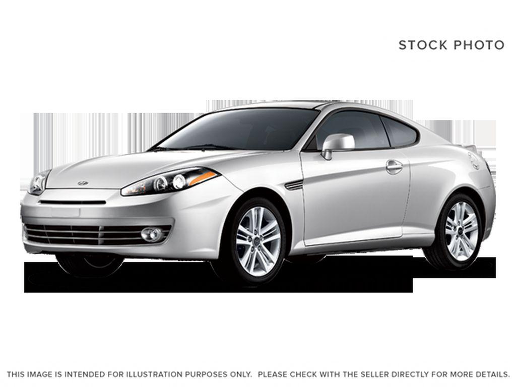 Silver[Continental Silver Metallic] 2008 Hyundai Tiburon