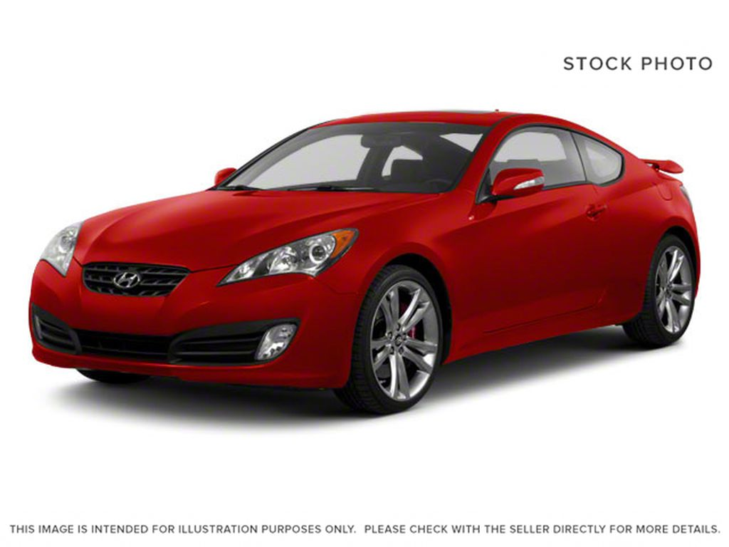 Red[Tsukuba Red] 2010 Hyundai Genesis Coupe