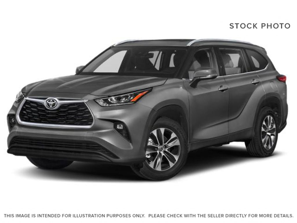 Gray[Magnetic Grey Metallic] 2021 Toyota Highlander