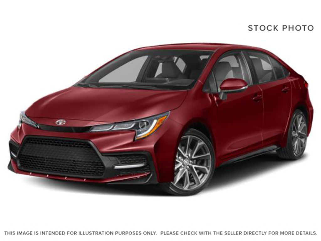 Red[Ruby Flare Pearl] 2022 Toyota Corolla