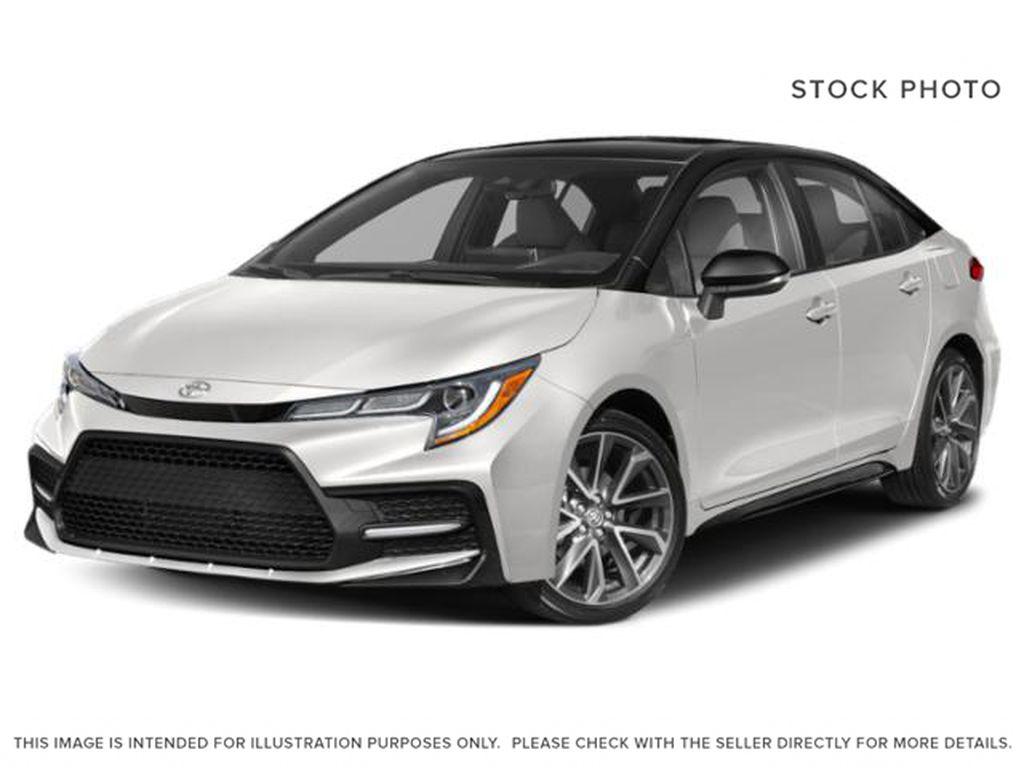 White[Super White w/Black Roof] 2022 Toyota Corolla