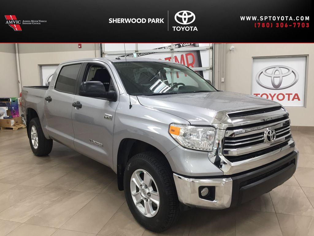 Silver[Silver Sky Metallic] 2017 Toyota Tundra CREWMAX 5.7L SR5
